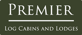 Premier Log Cabins and Lodges Logo